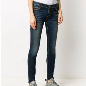 True Religion World Tour Dark Wash Skinny Jeans